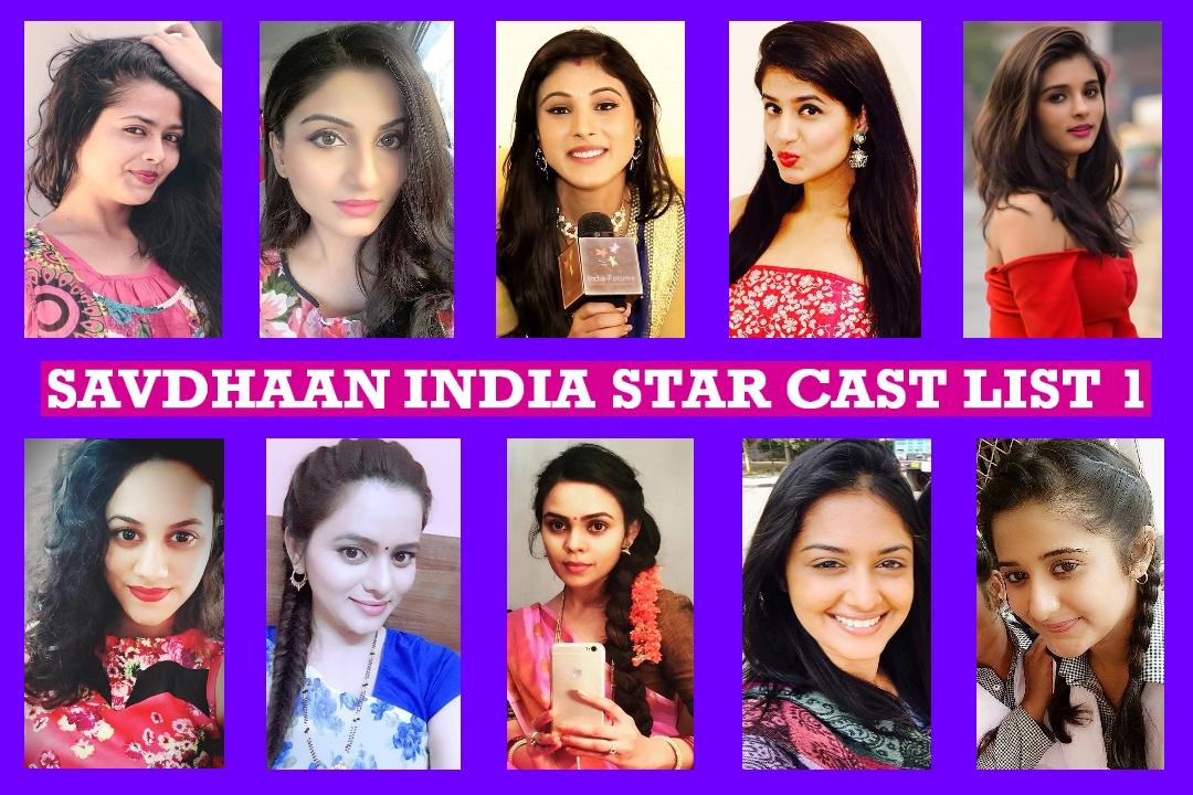 Savdhaan India Star Cast Real Name List 1