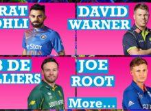 Top 10 ODI Cricket Batsmen in the World
