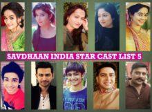 Savdhaan India Star Cast List 5
