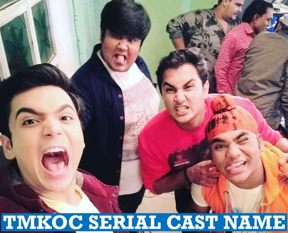 Taarak Mehta Ka Ooltah Chashmah Serial Cast Name
