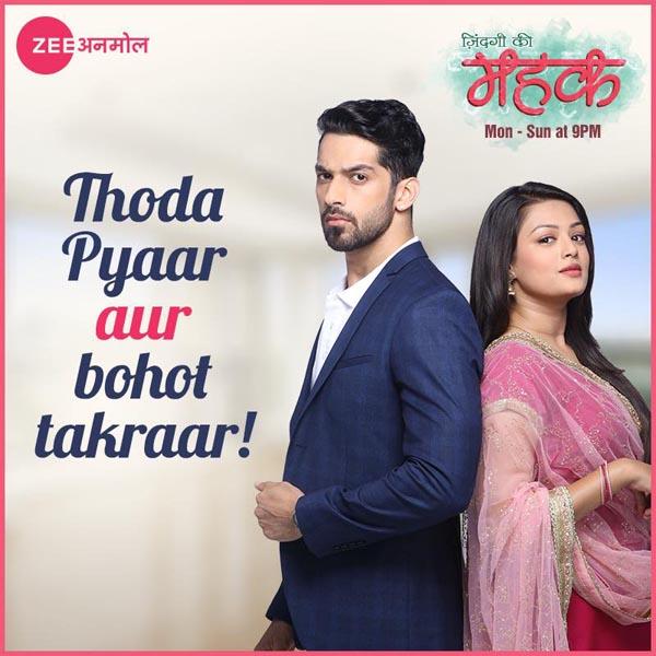 Zindagi Ki Mehek - Zee Anmol Serials Name