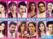 Bepanah Cast Real Name List