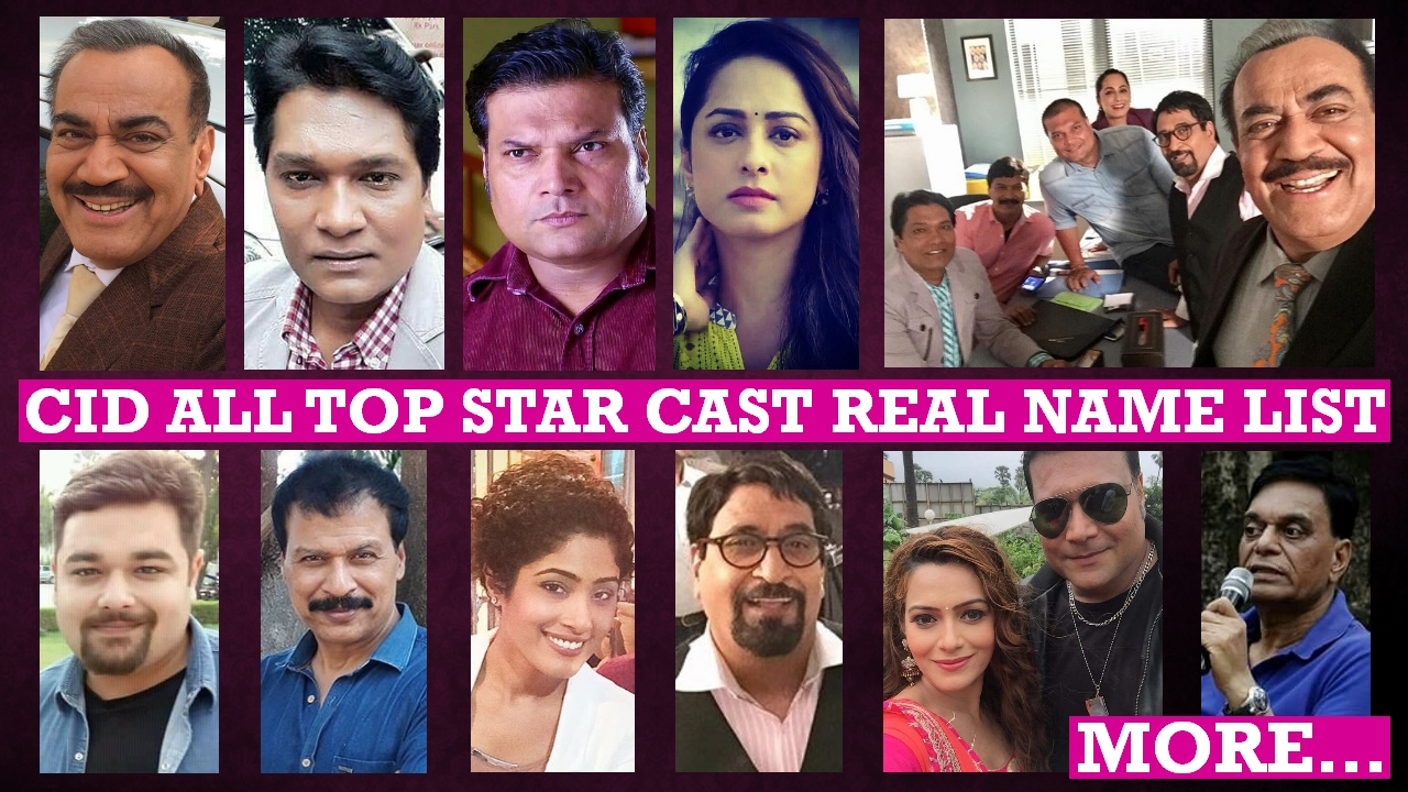 CID Star Cast Real Name List, Real Life, Biography, Photos, Wiki, Age