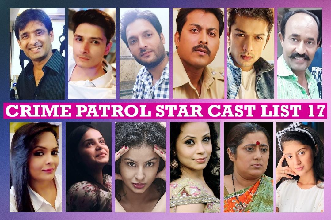 Crime Patrol Cast Name List 17 - Best Indian Crime TV Show