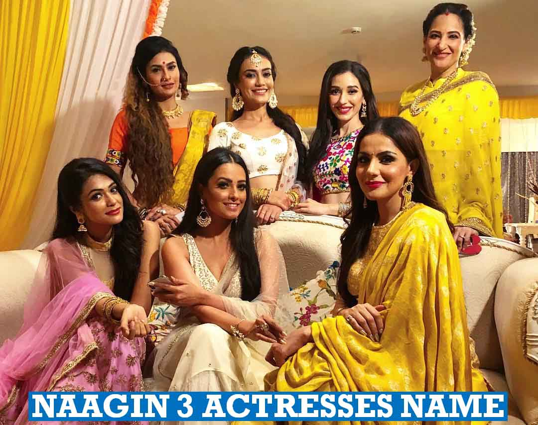 Naagin 3 Actresses Name