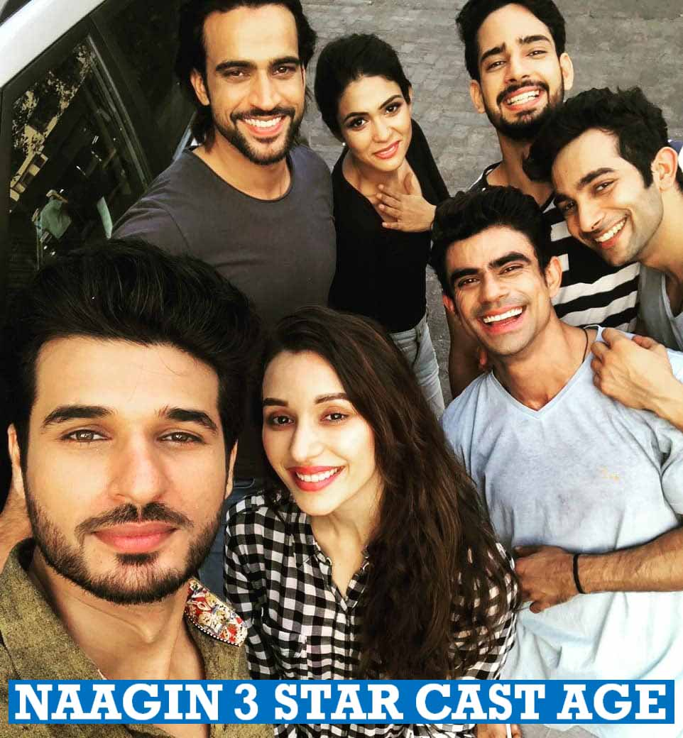 Naagin 3 Star Cast Age