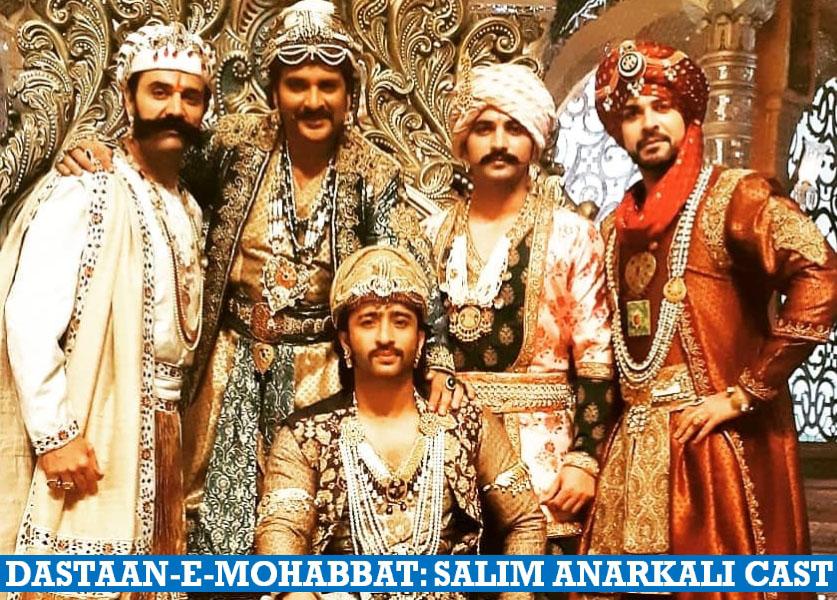 Dastaan-E-Mohabbat - Salim Anarkali Cast Name