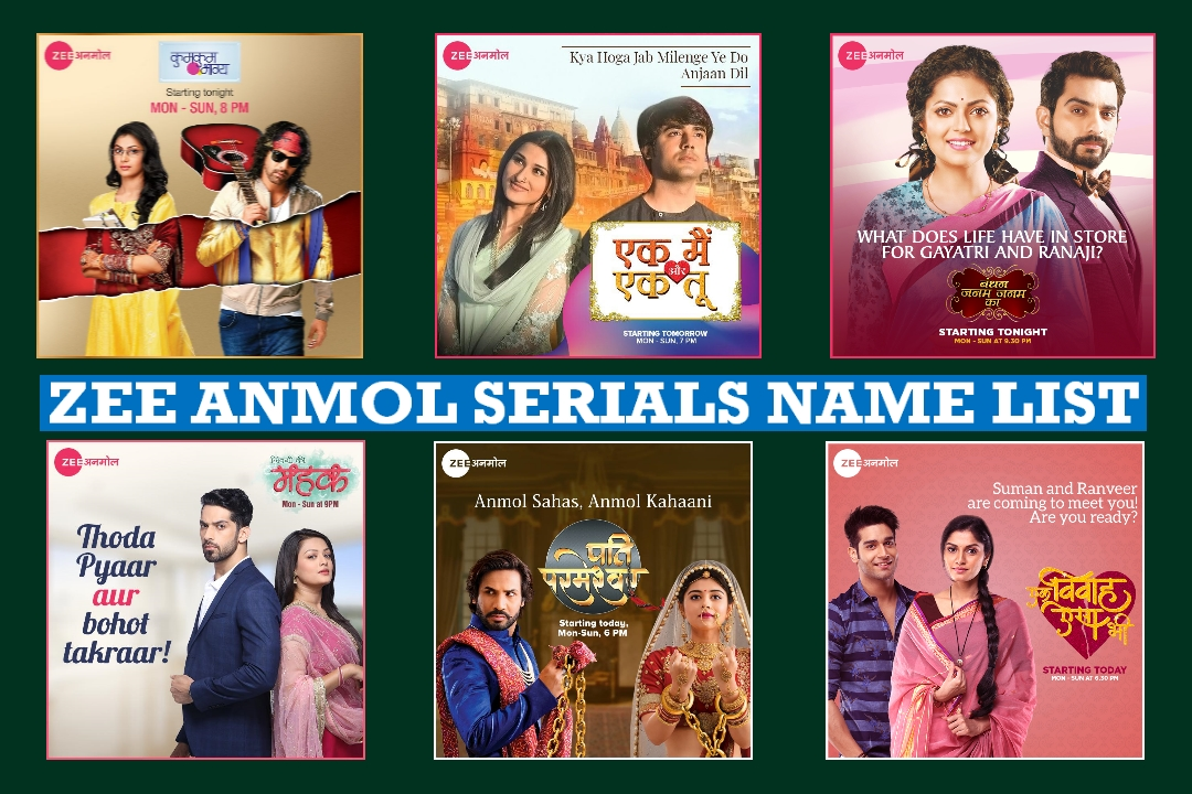 Zee Anmol Serials Name List, Detail Information, Wiki, Zee Anmol Television Show
