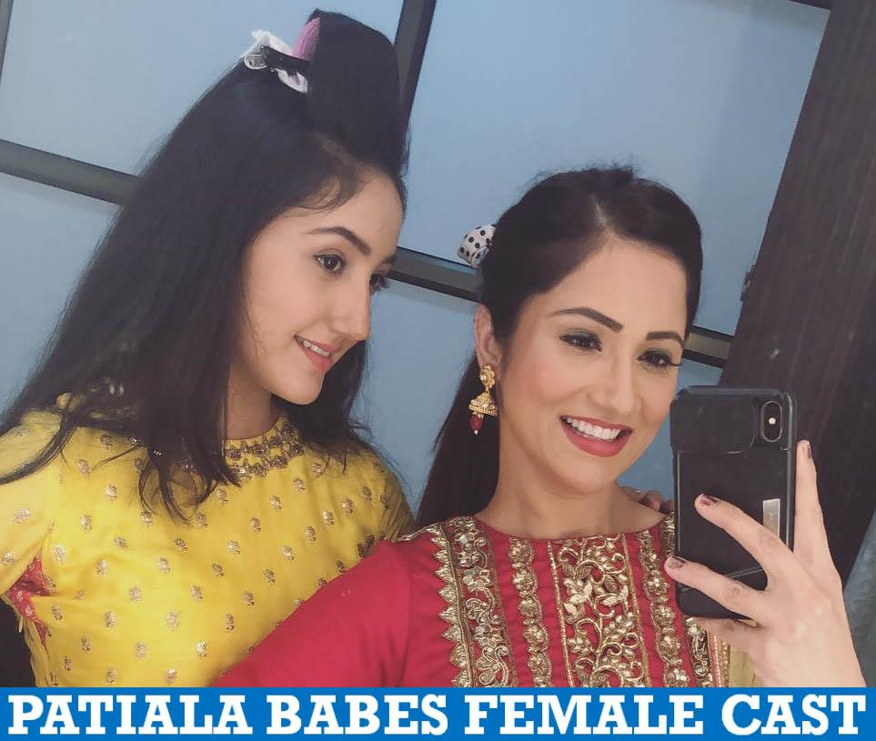 Patiala Babes Female Cast Name